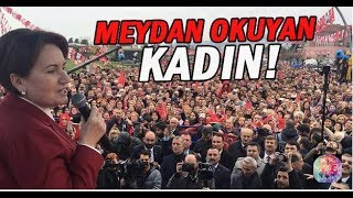 Bahçelinin videosunu yayınladı! Meral Akşener (Millet İttifakı) CHP İYİ Parti Kocaeli mitingi.