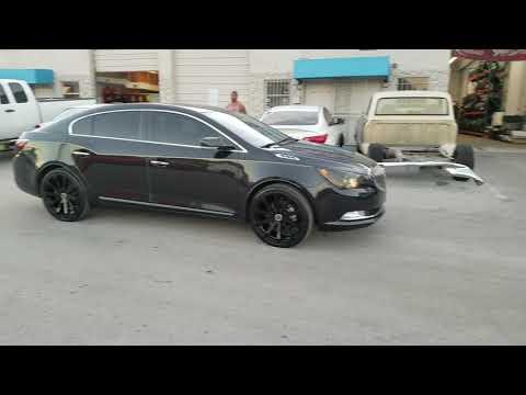 DUBSandTIRES.com 20 Inch Strada Gabbia Black Wheels Buick Lacrosse