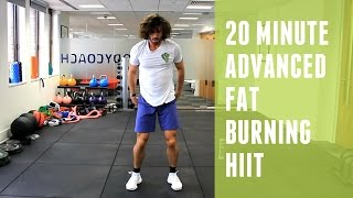 20 Minute Advanced Fat Burning HIIT Workout | The Body Coach by The Body Coach TV