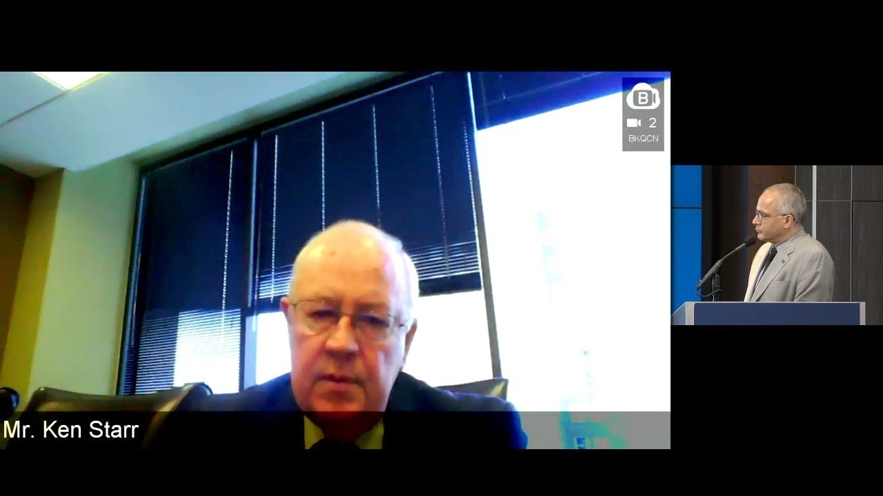 A Conversation with Ken Starr via Remote Video: Lessons for the Special Counsel Investigation