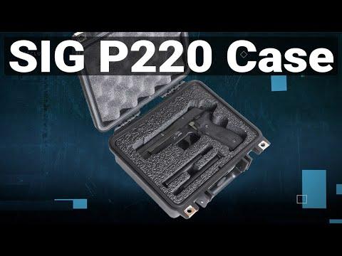 Sig Sauer P220 Pistol Case - Featured Youtube Video