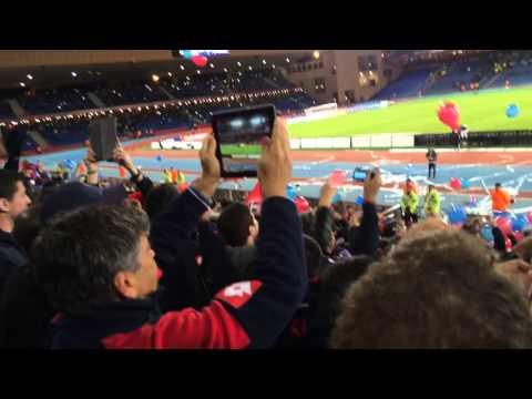 """San Lorenzo vs Auckland Marruecos copa del mundo"" Barra: La Gloriosa Butteler • Club: San Lorenzo"