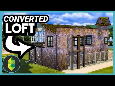 Converted Loft (Sims 4 Build)