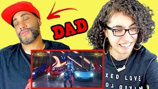 """MY DAD REACTS TO Lil Pump - """"Butterfly Doors"""" (Official Music Video) REACTION"""