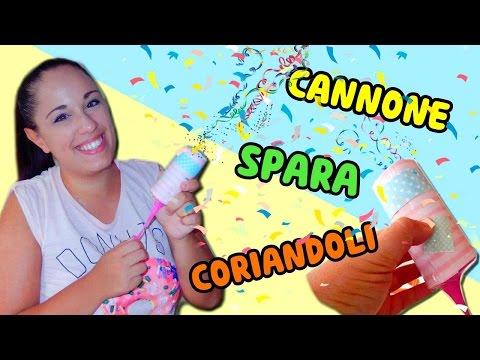 CANNONE SPARA CORIANDOLI FATTO IN CASA (facile ed economico!) Iolanda Sweets
