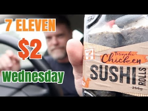 7 Eleven $2 Sushi and Sandwiches Review – Greg's Kitchen