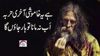 Emotional Poetry On Khamoshi : Best Khamoshi Poem | Rj Shan Ali | Urdu Quotes Collection On Khamoshi