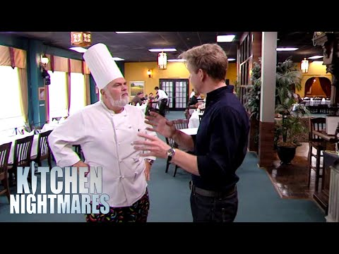 Gordon Ramsay Meets Chappy | Kitchen Nightmares