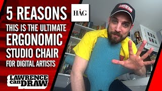 The best ergonomic chair for digital artists [HÅG Capisco review]