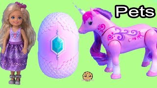 New Pet For A Princess ! Little Live Pets Unicorn + Baby Dragon - Barbie Kid