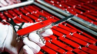Quy trình sản xuất dao đa năng Thụy Sĩ Victorinox