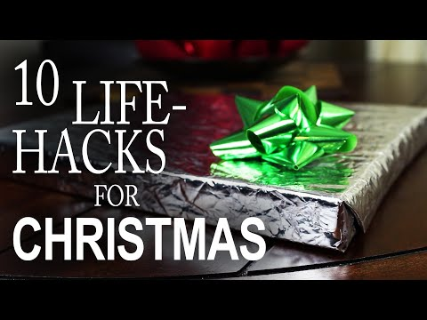 "10 Christmas ""Life Hacks"" You HAVE to Try!"