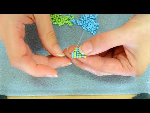 Weven zonder weefraam - Square stitch