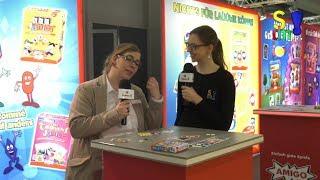Neuheiten – AMIGO – Spielwarenmesse 2019 in Nürnberg (Spiel doch mal…!) Standrundgang