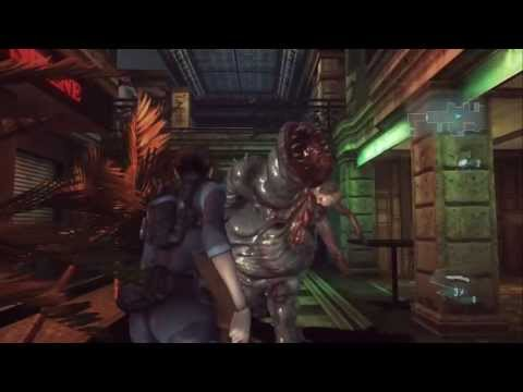 Resident Evil Revelations - HOW TO BEAT FIRST BOSS (COMMS OFFICER) XBOX 360