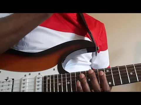 Soukous Tutorial: Sebene Solo in A major/ La majeur