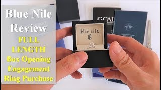 Blue Nile Engagement Ring Unboxing
