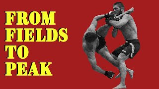 Khabib Nurmagomedov   From Fields to PEAK - Motivational Video