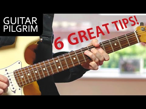 6 GUITAR SOLO TIPS YOU MUST KNOW!!