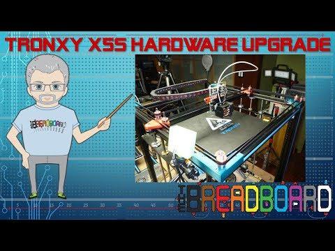 Tronxy X5SA 3d printer ultimate upgrades! - игровое видео смотреть