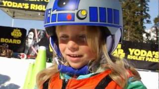 Burton Snowboards - Star Wars Park At Sierra At Tahoe