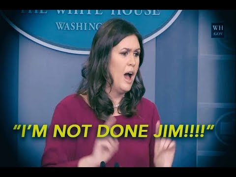 LIKE A BOSS: Sarah Sanders Puts CNN In Its Place