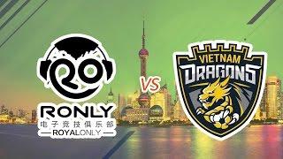 [23.07.2016] Trung Quốc Ronly vs Việt Nam Dragons [EACC 2016]