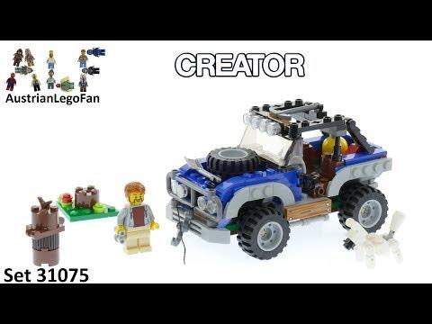 Vidéo LEGO Creator 31075 : Les aventures tout-terrain