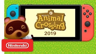 Animal Crossing Coming To Nintendo Switch In 2019