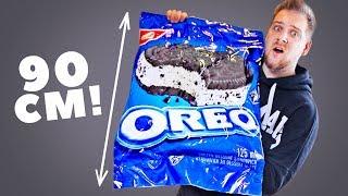 СДЕЛАЛ ОГРОМНОЕ ОРЕО МОРОЖЕНОЕ 8.5КГ! / DIY GIANT OREO ICE CREAM!!!