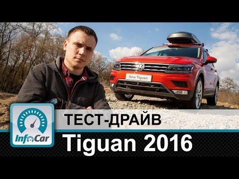 Volkswagen  Tiguan Паркетник класса J - тест-драйв 1