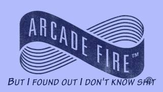 Arcade Fire - Electric Blue (Lyrics)