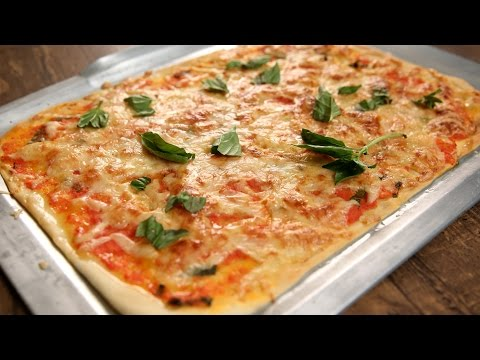 Homemade Mozzarella Pizza | Pizza From Stratch | Kiddie's Corner With Anushruti