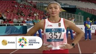 Emilia Nova Melesat Raih Medali Perak Di Final 100 M Lari Gawang Putri