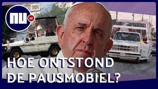 Paus krijgt nieuwe auto: Hoe ontstond de pausmobiel? | NU.nl