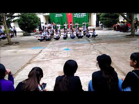 Dân vũ hội trại 26/3/2017 - Chi đoàn 12a - THPT Anh Hùng Núp