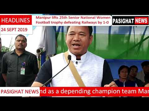 Manipur lifts 25th Senior National Women Football trophy defeating Railways by 1-0