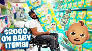 FIRST TIME SHOPPING FOR A BABY! 😱