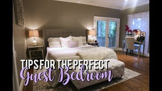 How To Create The PERFECT Guest Bedroom!! #HouseToHome