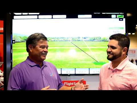 John Hughes Golf Feature Partner - Alex Trujillo and FlightScope