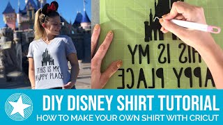 How To Make Your Own Disney T-Shirt