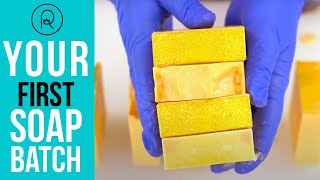 How To Make Your First Batch Of Cold Process Soap | Royalty Soaps