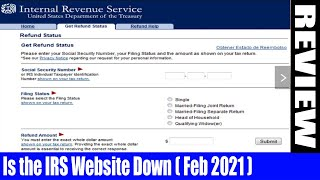 Is the IRS Website Down (Feb 2021) - Check Out The Exciting Details -A Must Watch ! | DodBuzz