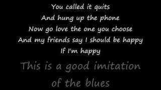 Alan Jackson - Good imitation of the blues w/ LYRICS