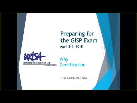 Preparing for GISP Certification Webinar - YouTube