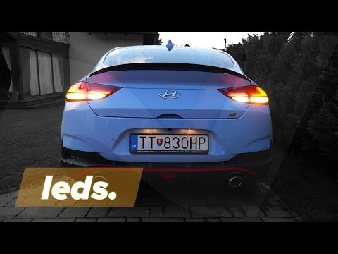 2019 Hyundai i30 FASTBACK N with LEDs? HERE'S HOW TO!