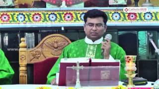 """""""Power Of Rosary"""" Word Of God By Rev.Fr.Sathish Kumar @ Kanukamatha Church,Rentachintala,Guntur"""