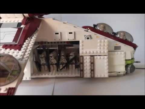 [HD]Lego -HTM #5 Republic Gunship aufrüsten[German/Deutsch]