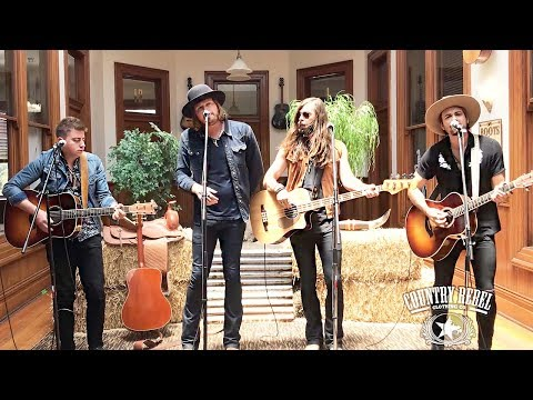 A Thousand Horses 'Blaze Of Somethin'' // Country Rebel HQ Session Mp3