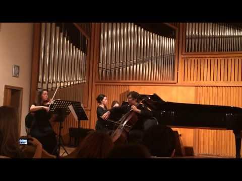 Aram Khachaturian - trio  Kamilla Bendersky - piano